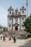 Chiesa di Santo Ildefonso, Oporto fotografie stock
