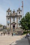 Chiesa di Santo Ildefonso, Oporto fotografia stock libera da diritti