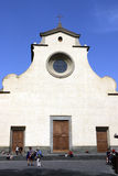 Chiesa di santo spirito,florence,italy Royalty Free Stock Photo