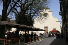 Chiesa di santo spirito,florence,italy Stock Photography