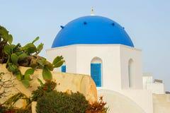 Chiesa di Santorini Fotografia Stock Libera da Diritti