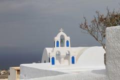 Chiesa di Santorini Fotografie Stock Libere da Diritti