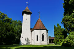 Chiesa di Scherzligen Fotografia Stock Libera da Diritti