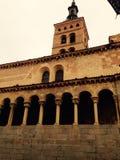 Chiesa di Segovia immagine stock