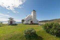 Chiesa di Slåtten immagine stock