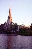 Chiesa di St Albans, Copenhaghen, Danimarca Immagini Stock