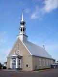Chiesa di St Andrew al San-Andre-de-Kamouraska Fotografia Stock Libera da Diritti
