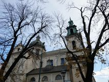 Chiesa di St Anna & di x27; s a Cracovia fotografia stock libera da diritti