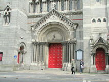 Chiesa di St Anne a Dublino Fotografie Stock