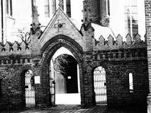 Chiesa di St Anne, Vilnius Fotografia Stock