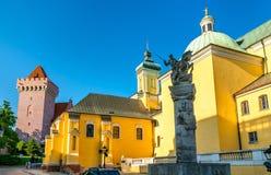 Chiesa di St Anthony di Padova a Poznan, Polonia fotografia stock libera da diritti