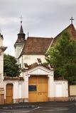 Chiesa di St Bartholomew in Brasov romania Fotografia Stock Libera da Diritti