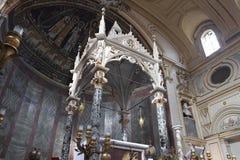 Chiesa di St Cecilia a Roma Immagine Stock Libera da Diritti