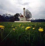 Chiesa di St.Coloman in Germania Immagini Stock Libere da Diritti