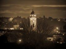 Chiesa di St George in Smederevo - sephia tonificato Fotografia Stock Libera da Diritti