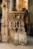 Chiesa di St John Baptist Pulpit immagine stock