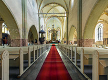 Chiesa di St John in Cesis Immagini Stock Libere da Diritti