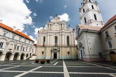 Chiesa di St Johns a Vilnius Immagini Stock Libere da Diritti