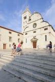 Chiesa di St Mary Dalmazia zadar Croazia Europa Immagine Stock Libera da Diritti
