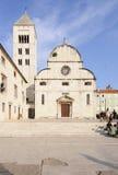 Chiesa di St Mary Dalmazia zadar Croazia Europa Immagini Stock