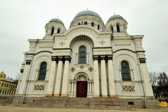 Chiesa di St Michael, Kaunas, Lituania Immagine Stock
