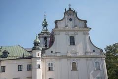 Chiesa di St Michael l'arcangelo e la st Stanislaus Bishop e martire e Pauline Fathers Monastery, Fotografie Stock Libere da Diritti