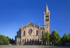 Chiesa di St Peter e di Paul a Potsdam Fotografia Stock