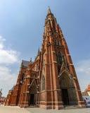 Chiesa di St Peter e di Paul in Osijek, Croazia fotografia stock libera da diritti
