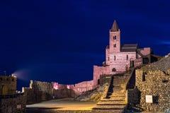 Chiesa di St Peters a Oporto Venere Fotografia Stock Libera da Diritti