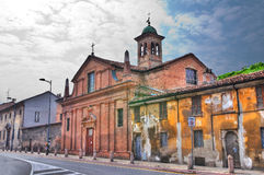 Chiesa di St Teresa. Piacenza. L'Emilia Romagna. L'Italia. Immagini Stock