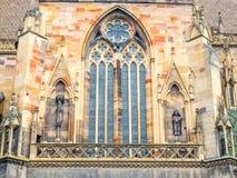 Chiesa di StMartin a Colmar, Francia Fotografia Stock Libera da Diritti