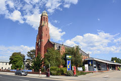 Chiesa di StMary's in Bairnesdale, VIC Immagine Stock Libera da Diritti
