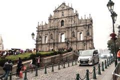 Chiesa di StPaul a Macao Immagine Stock