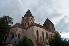 Chiesa di Strasburgo, l'Alsazia, Francia Fotografie Stock