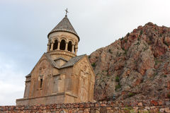 Chiesa di Surb Astvatsatsin di Noravank Fotografia Stock