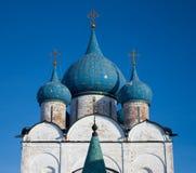 Chiesa di Suzdal fotografia stock libera da diritti