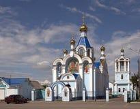Chiesa di Svytouspenskiy. Belorechensk, Russia Immagini Stock
