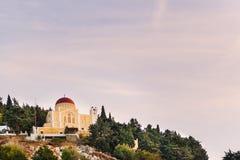 Chiesa di Symi Fotografia Stock
