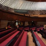 Chiesa di Temppeliaukio a Helsinki Finlandia Immagini Stock