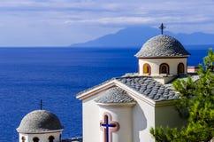 Chiesa di Thelogos fotografie stock