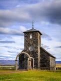 Chiesa di Thingeyrar Fotografie Stock Libere da Diritti