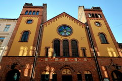 Chiesa di Toyen a Oslo, Norvegia Immagine Stock