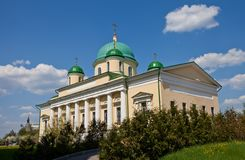 Chiesa di trasfigurazione di Gesù (1842). Tula, Russia Immagine Stock Libera da Diritti