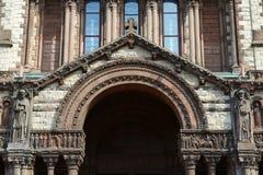 Chiesa di trinità di Boston, U Fotografie Stock Libere da Diritti