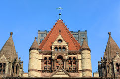 Chiesa di trinità di Boston, U Immagini Stock Libere da Diritti