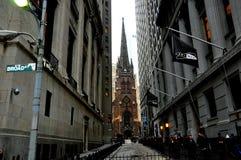 Chiesa di trinità New York Fotografia Stock Libera da Diritti
