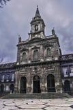 Chiesa di trinità a Oporto Fotografia Stock