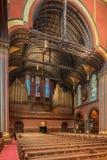Chiesa di trinità, quadrato di Copley, Boston fotografie stock libere da diritti