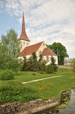Chiesa di trinità in Rakvere Immagine Stock Libera da Diritti