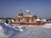 Chiesa di trinità santa Il villaggio Taraskovo Regione di Sverdlovsk La Russia Immagine Stock